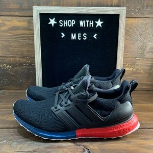 mens black and red adidas shoes